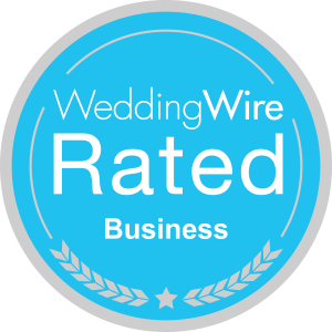 wedding wire rated badge